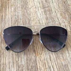 Zara sunglasses brow bar